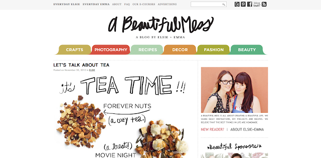 a beautiful mess blog site
