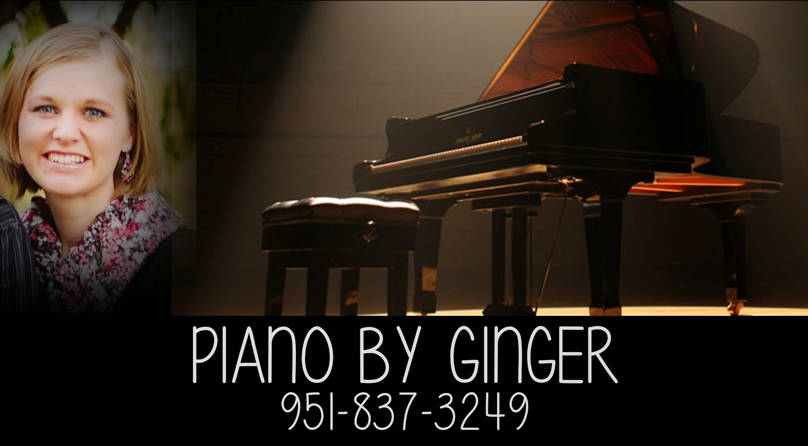 Piano by Ginger