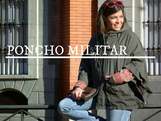 poncho militar