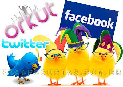 Frases Engraçadas para Facebook, MSN, Twitter