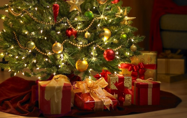 Christmas-presents-under-tree