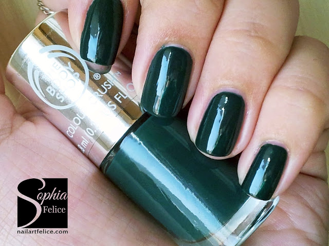 colour crush nails 510 the body shop green