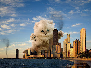 Catzilla on the New York