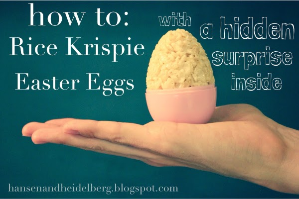 image Easter Recipe- Rice Krispie Eggs with a Surprise! on Family Focus Blogs