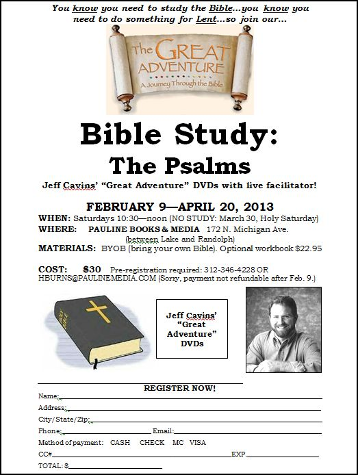 Find a Class - Community Bible Study