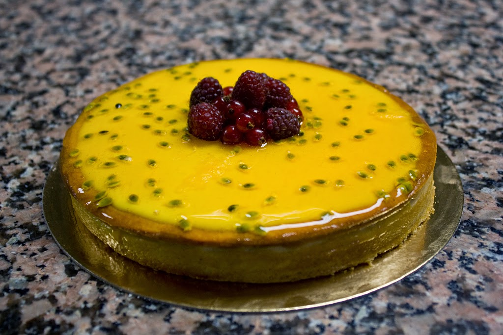 receta para hacer tarta de chinola