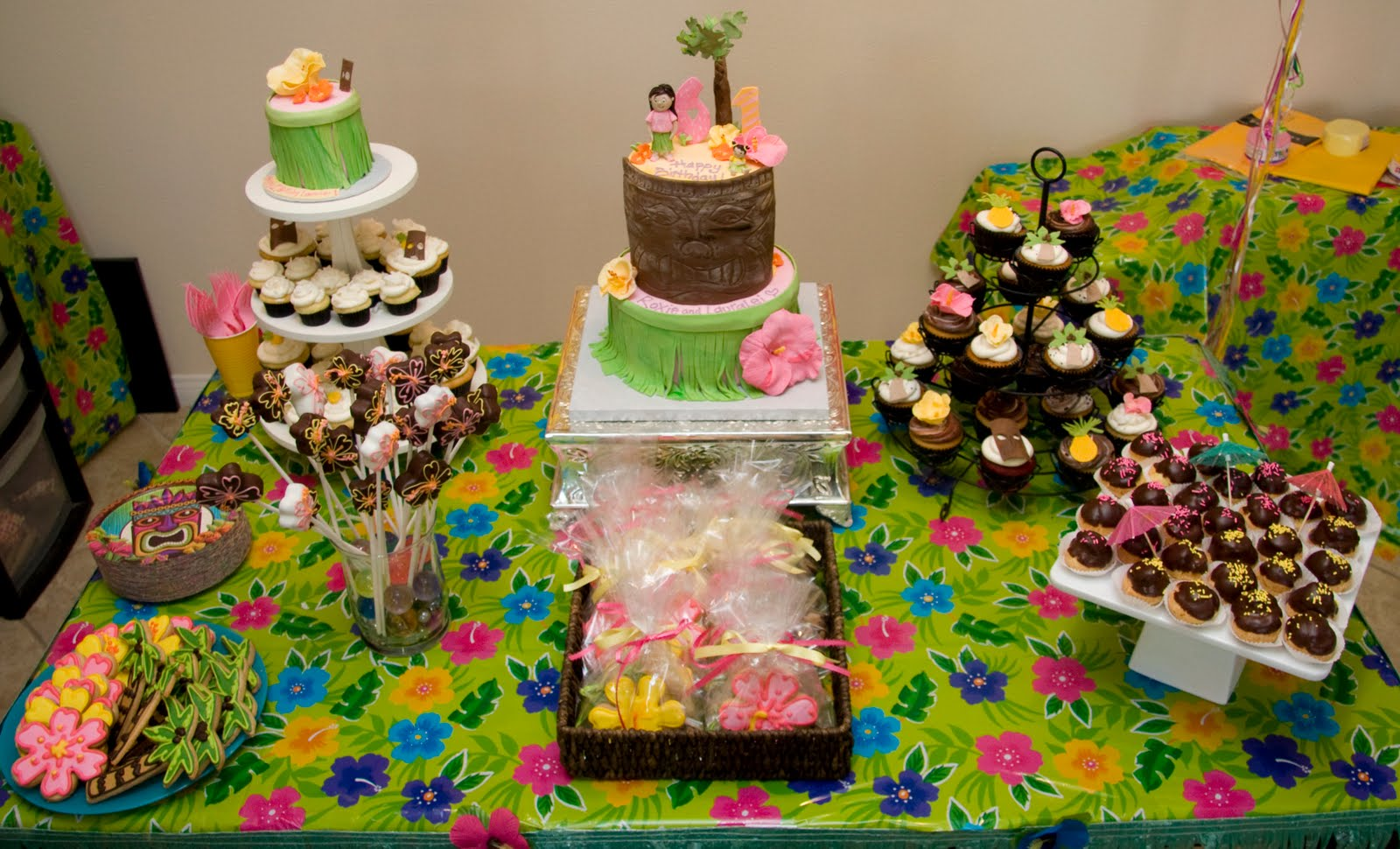 Hawaiian Luau Birthday Party Ideas