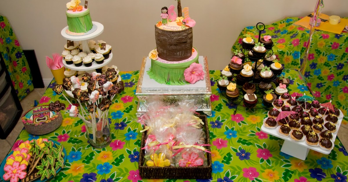 Homes & Lifestyles Images Hawaiian Kids Birthday Party Ideas
