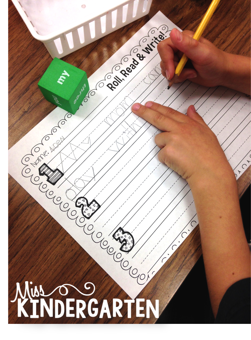 Making sight words fun miss kindergarten later on in the year as our sight word knowledge grows we are able to integrate our sight words into our learning my students love to roll the sight word sciox Image collections