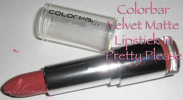 Colorbar Velvet Matte Lipstick In Pretty Please