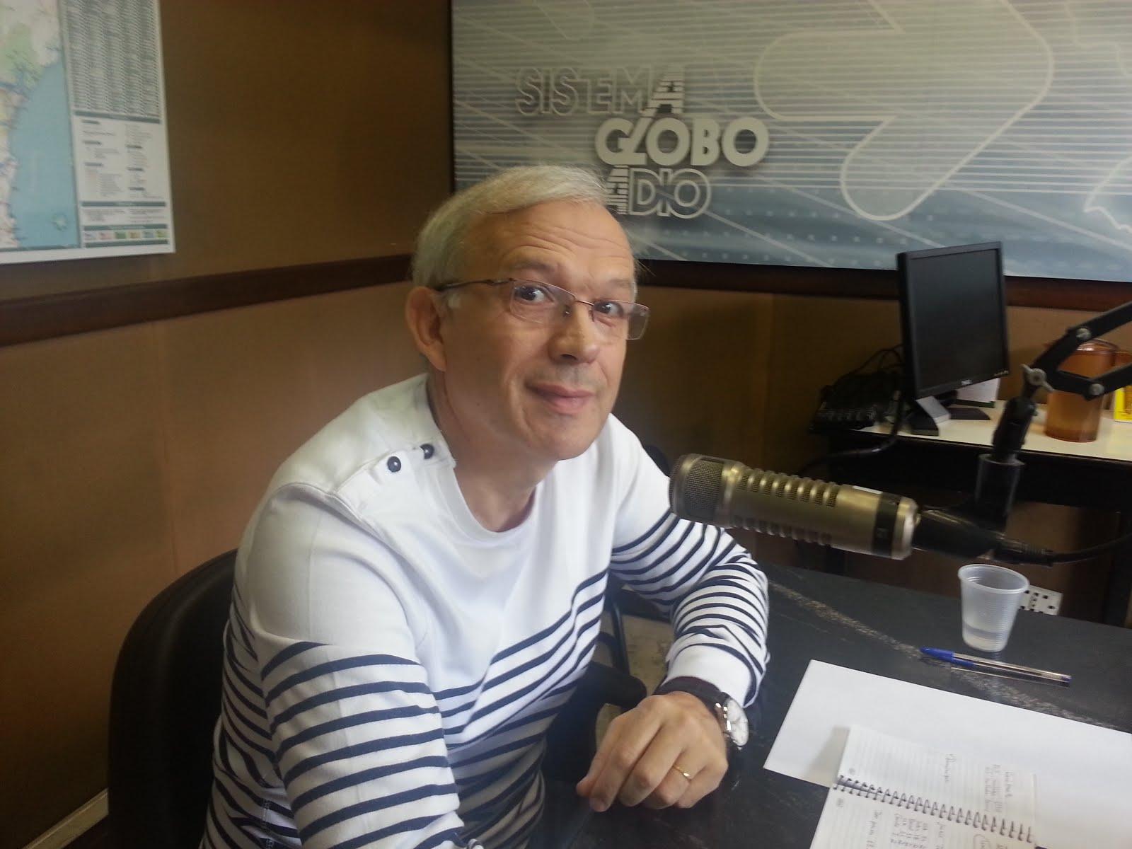Girardi participa de entrevista no Sistema Globo de Rádio - CBN