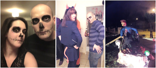 maquillage, halloween, déguisement, bullelodie