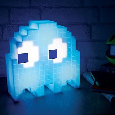 Lámpra Retro Fantasma de Pacman