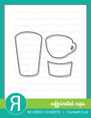 caffeinated cups confetti cuts