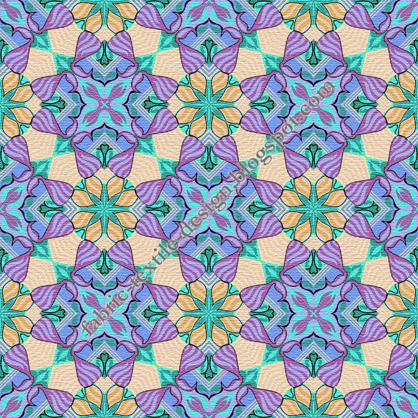 Bed sheet designs textile designs geometric fabric for Bed sheet design images