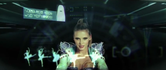 Hot Chip 'Night & Day' - featuring Lara Stone by Peter Serafinowicz