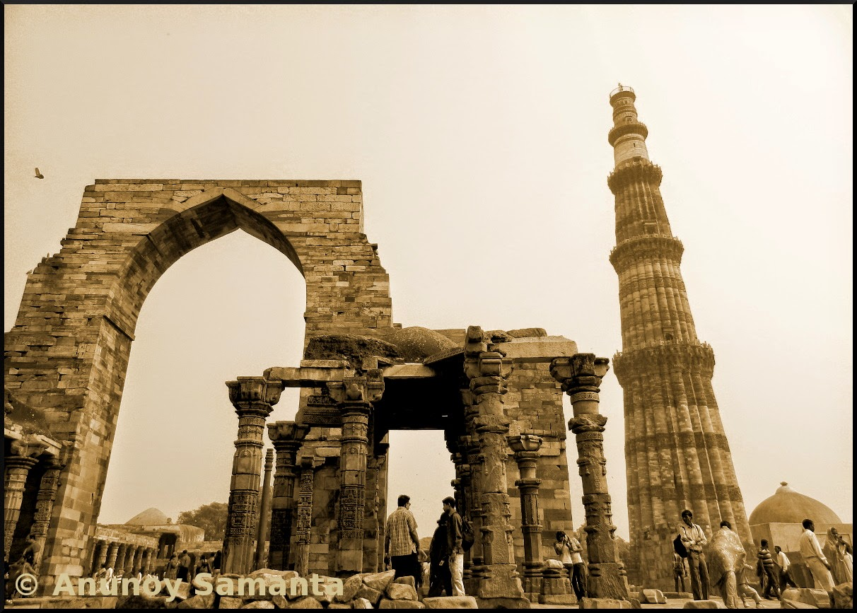 Qutub Minar is an UNESCO World Heritage Site