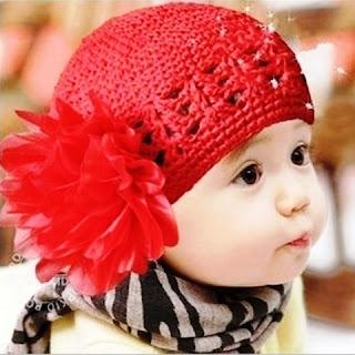 Model Turban Bayi Rajut Terbaru