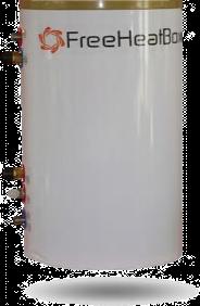 FreeheatBox 50 pour plancher chauffant sec mince et pompe à chaleur