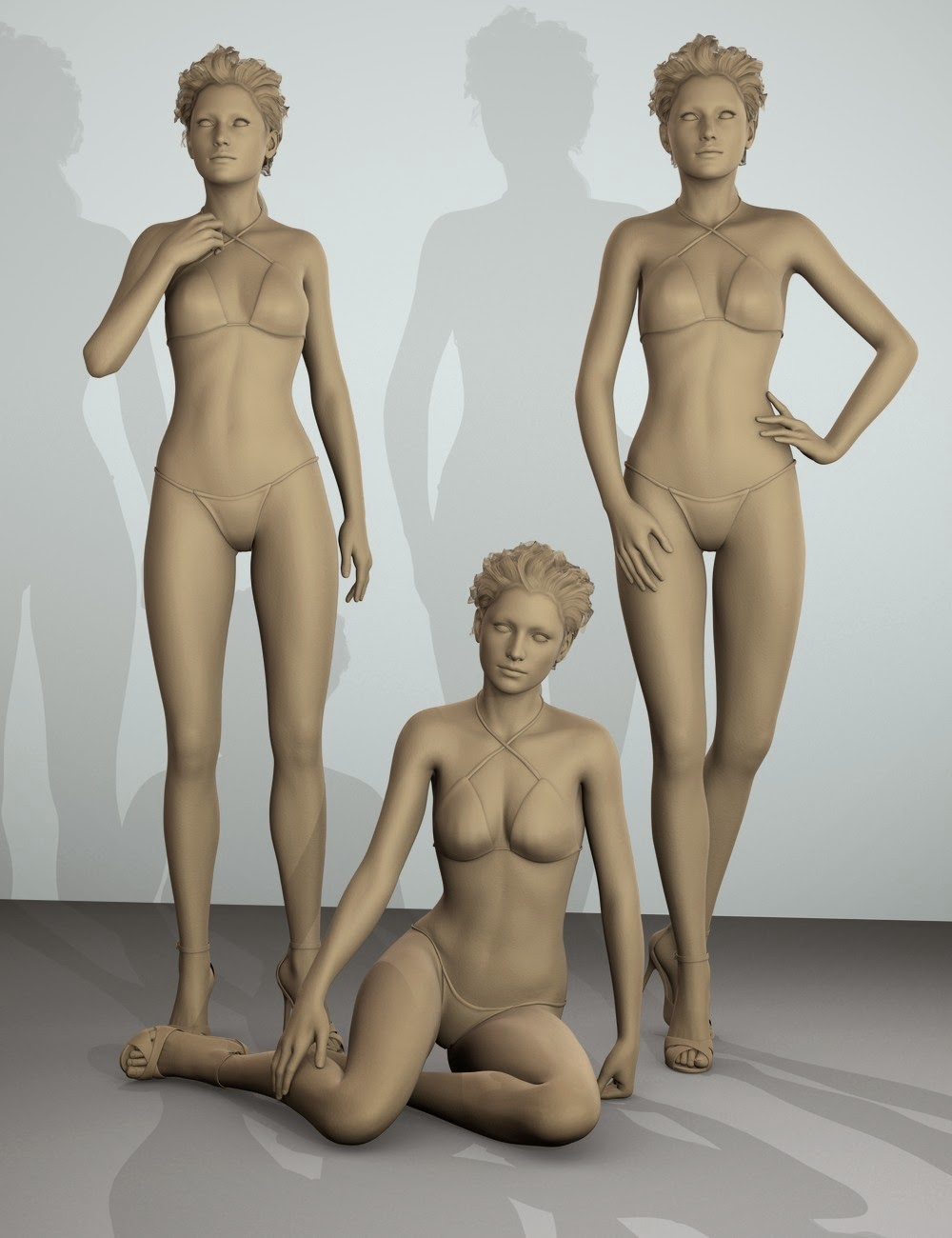 3d Models - Sophisticated: Poses for Victoria 6