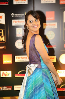 Anchor Anasuya Stills at IIFA Utsavam Awards 2016 Day 2  (14).jpg