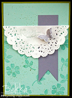 Bloomin Marvelous Party Card by Stampin' Up! Demonstrator Bekka Prideaux - find out how you can make a card like this with your friends on her blog
