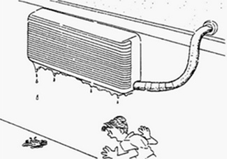 Recogida agua aire acondicionado