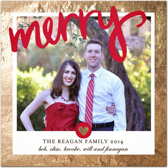Tiny Prints Family Christmas Card