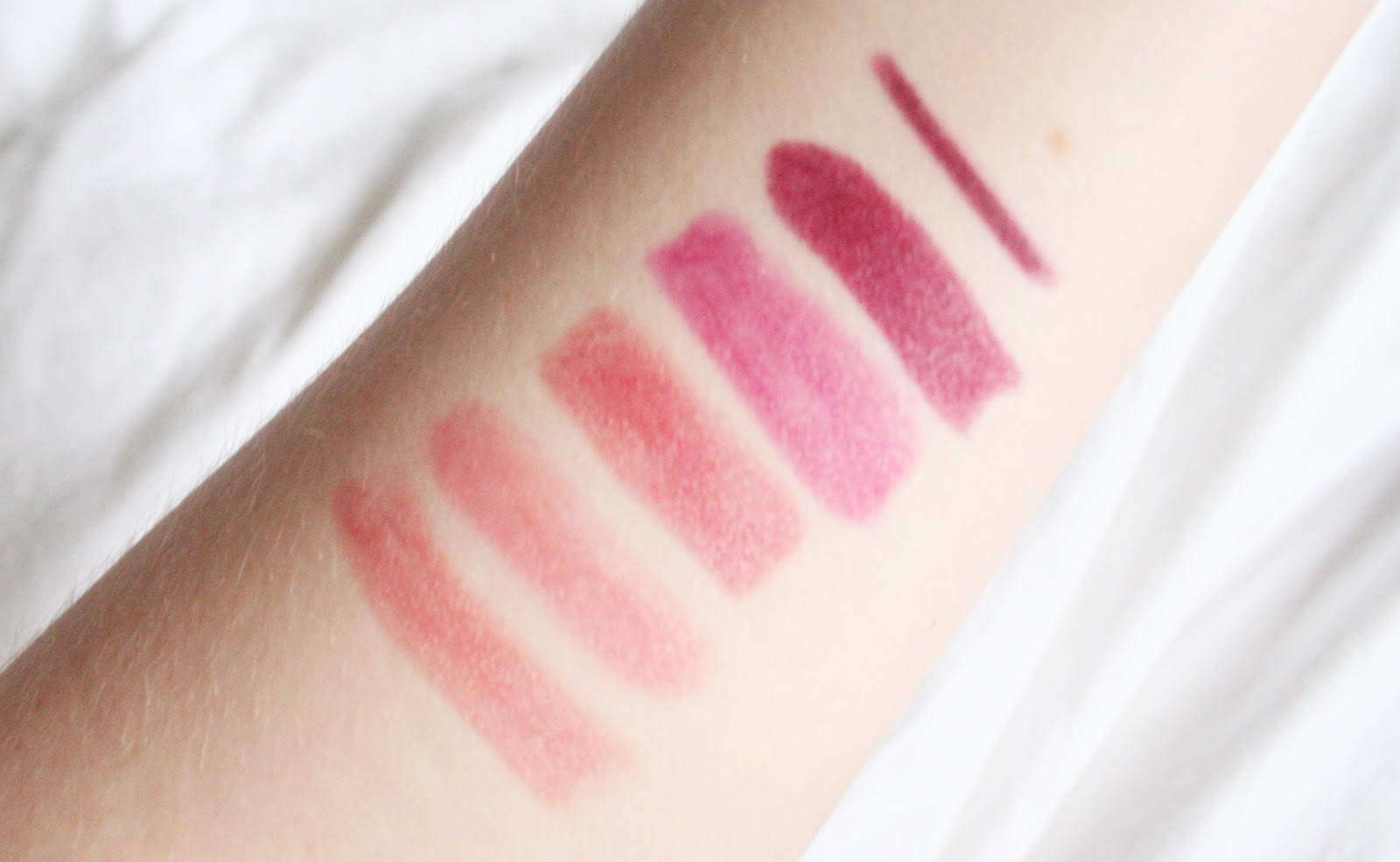 Winter Lipsticks || Blogmas