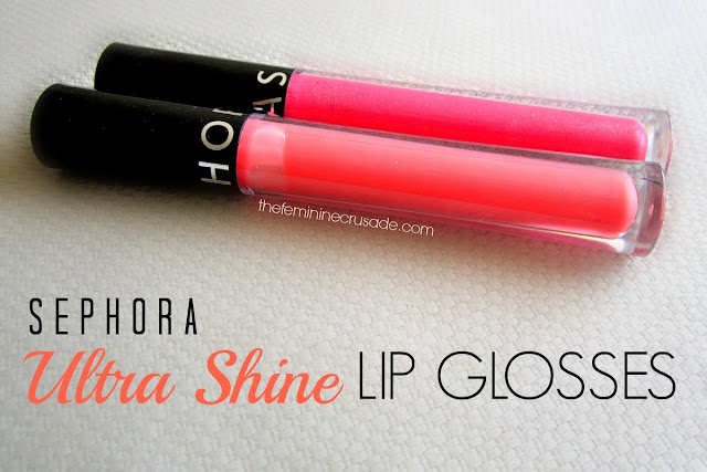 Sephora Ultra Shine Lip Glosses