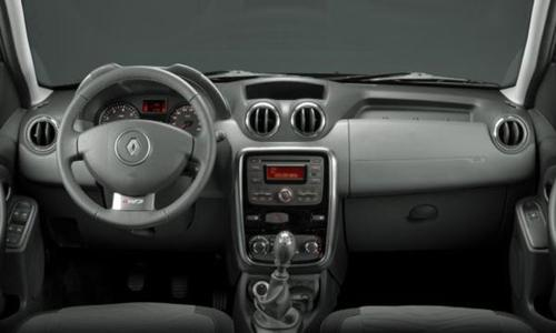 2012 Renault Duster Interior design.