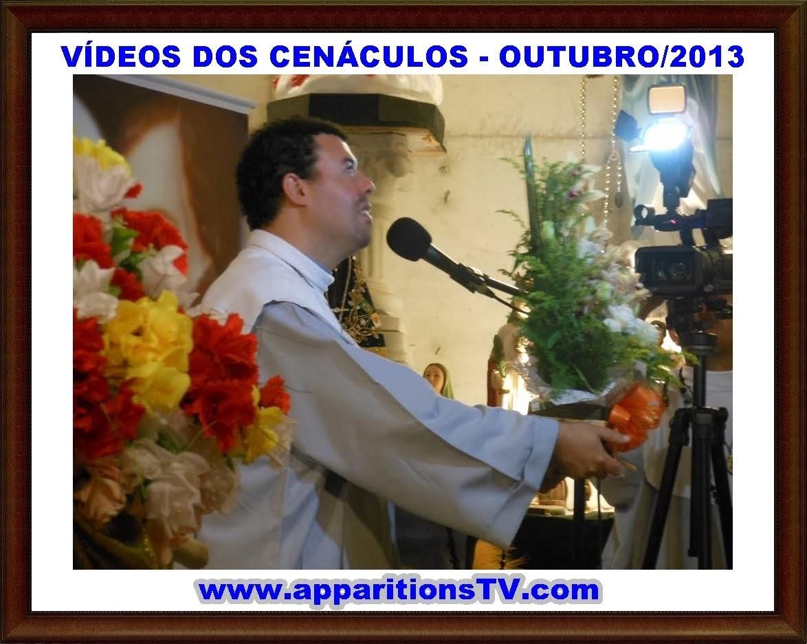 OUTUBRO/2013 - VÍDEOS DOS CENÁCULOS