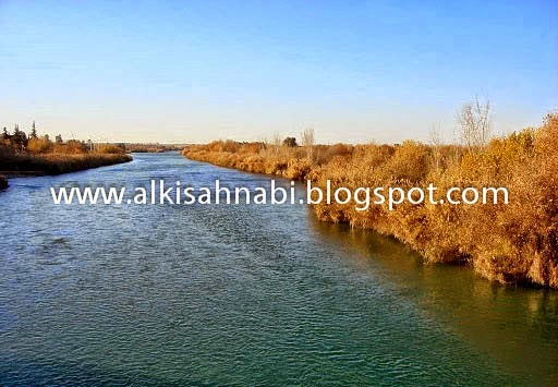 Sungai Euphrates, syria, eufrat, gunung emas, furat