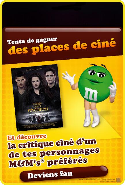 800 places de cinéma pour Twilight + 30 coffrets dvd + 30 coffrets livres + 30 BOF à gagner