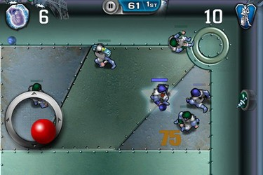 Speedball 2 Evolution iOS game available for download
