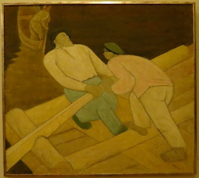 Ануфрий Бизюков, На плоту, 1932-33