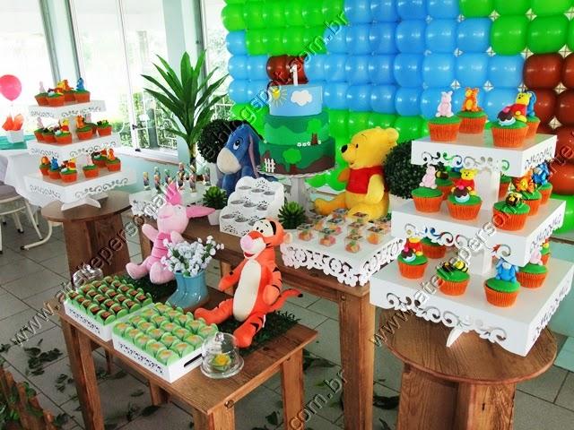 decoracao festa ursinho pooh provencal porto alegre