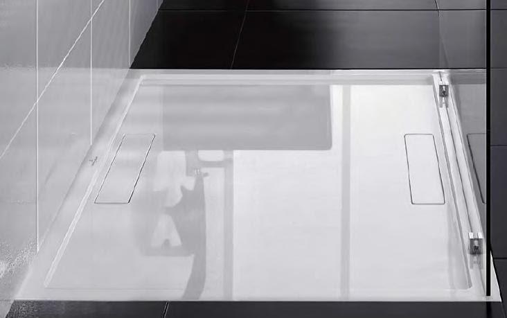 Decoracional platos de ducha corian solid surface - Plato ducha corian ...