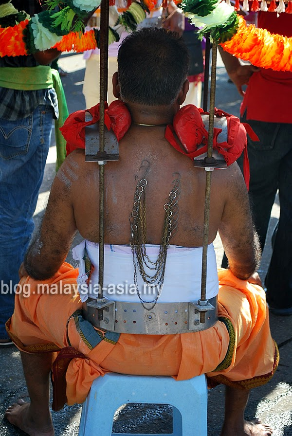 Kavadi Metal Support