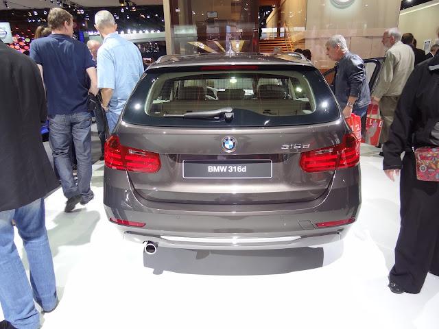 2013 BMW 316d touring rear