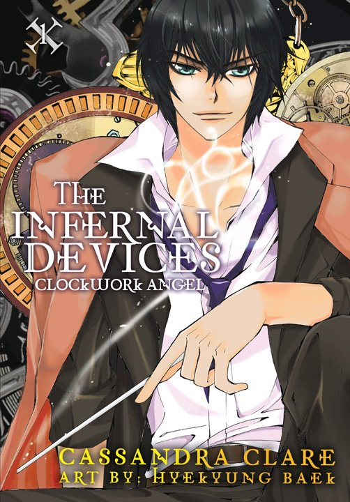 Manga reseña clockwork angel