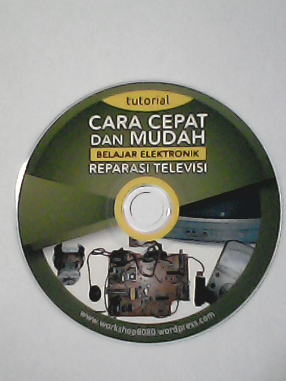 Harga DVD Tutorial Reparasi TV = 150 rb.