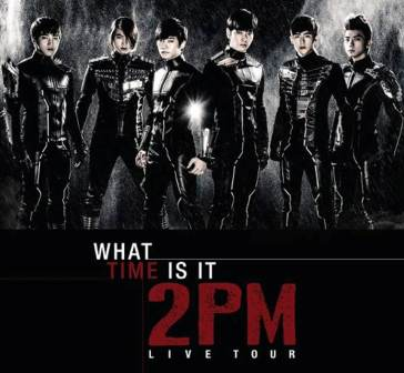 "2PM Live in Manila for 'What Time Is It?"" Asia Tour this March 2"