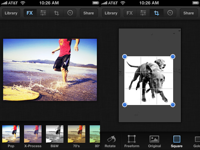 Mobile apps for photographers Luminance