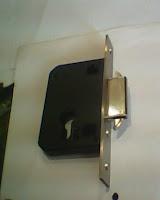 Badan kunci pintu sliding DEKSON backset 40 mm ledah mekar.