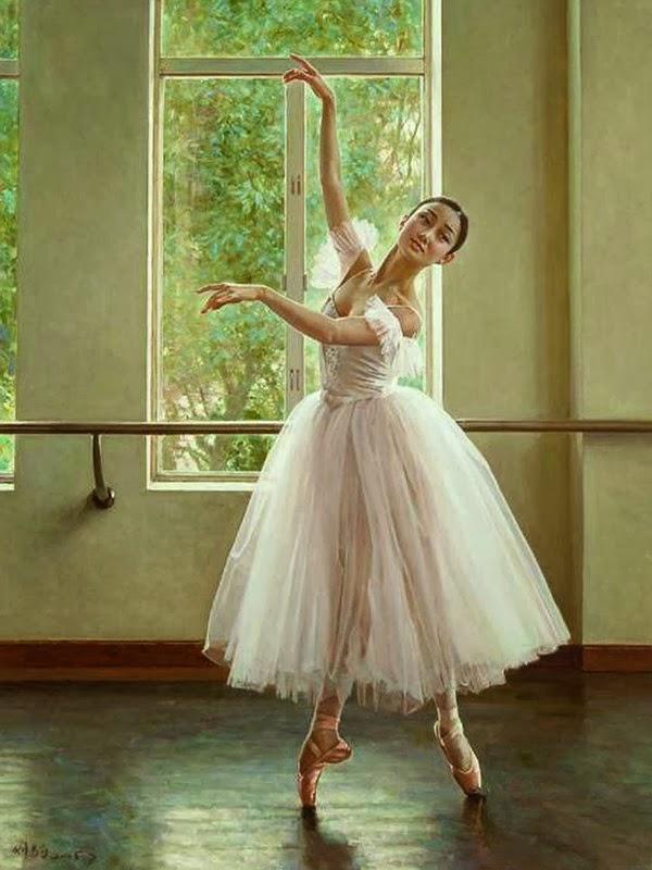 bailarinas-al-oleo