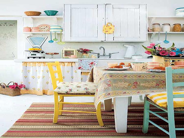 Retro Kitchen Design Idea