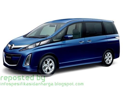Harga Mazda Biante GRANZ AT 2.0 Mobil Terbaru 2012 | Info Harga dan ...