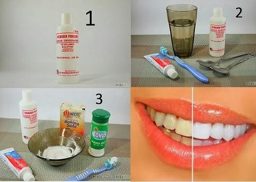 Liberte Sua Mente Veja Como Clarear Os Dentes Em Casa Com Agua