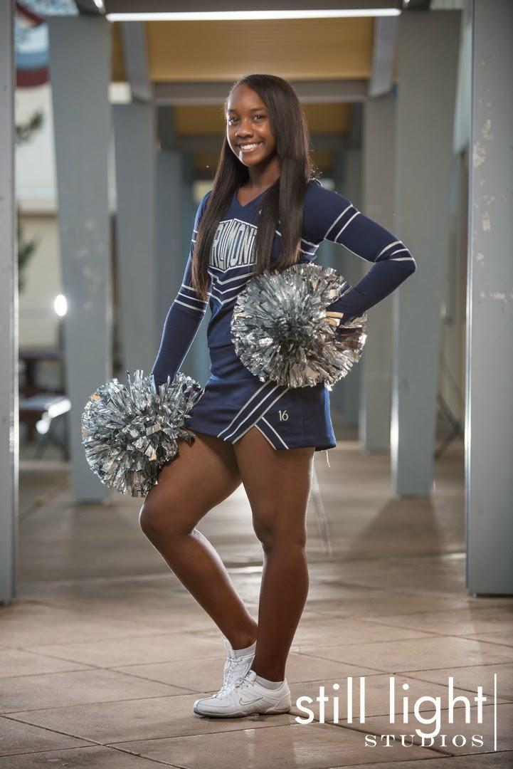 Carlmont High School Cheer Team Cheerleaders Sport Photos in Belmont by Still Light Studios